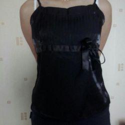 Чeрная блузочка