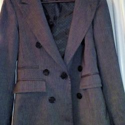 Ceket yeni.