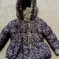Children's jacket for the girl