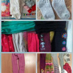 Set of tights