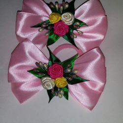 Kanzashi bows