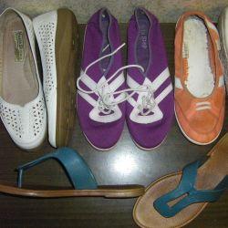 Pantofi fără toc pentru vară 252-253mm