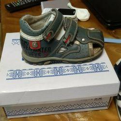 Sandals, sandals, mursu 22 р.