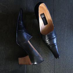 shoes with a new nose