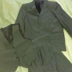 Three piece suit for boy
