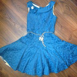 Платье нарядное на девочку (2 шт: 9-10; 11-12)