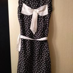 Silk dress r.40-42