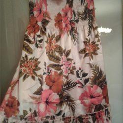 Платье-бюстье вечернее