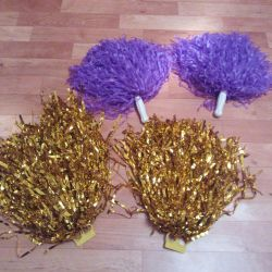 Pompons for dancing