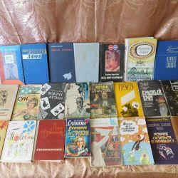 Literature, books of different genres
