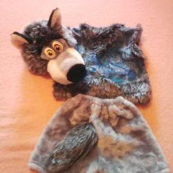 new year wolf costume