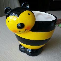 Vase for honey