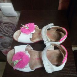 Sandals leather 32 r-ra