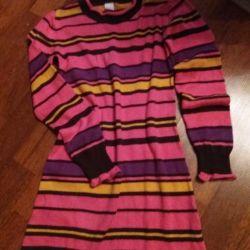 Платье трикотажное 4-6 лет