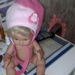 Fleece hat for girls.
