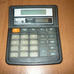 calculator Citizen CDS-813