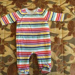 Salopete frumoase BabyGap 3-6 luni