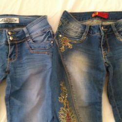 ? Jeans de 42 de ori.
