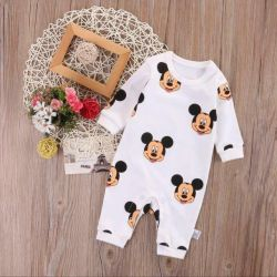 New bodysuit romper with mickey for 12 months