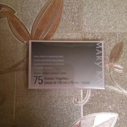 Napkin with matting effect Mary Kay