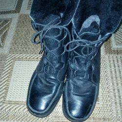 Women's boots, genuine leather