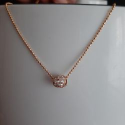 Chain with a pendant gold 585