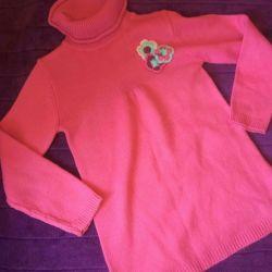 Sweater tunica pentru fata