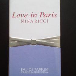 Ніна Річчі Лав ін Париж. Жіноча парфумерна вода