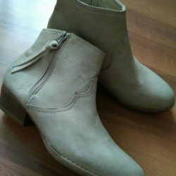 New half boots, shoes