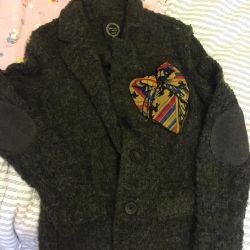 Women's woolen jacket