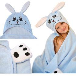 Детское полотенце с капюшоном (новое)