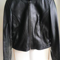 Leather jacket Alexander Shakhov (48 size)