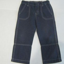 Trousers for children from cotton twill 86 LaRedoute