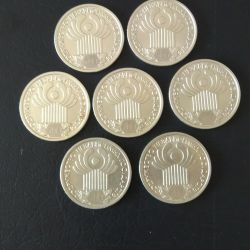 1 ruble 2001
