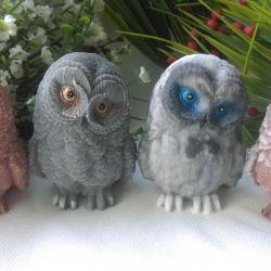 Handmade soap, owl