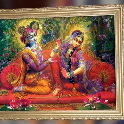 Picture of Radha and Krishna