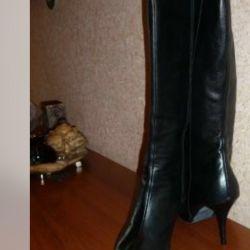 Çizme r.38 deri yeni