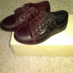 Παπούτσια tat. δέρμα