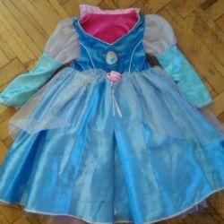 👗детское Р110 двухстороннее платье