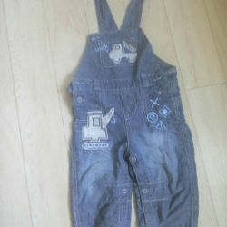 Overalls 62r to 9 months.
