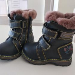 New insulated boots from Pasito. Size 22