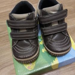 #Ботинки #Капика #утеплeнные #обувь