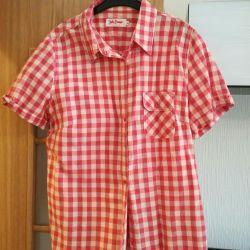 Checked shirt 48-50