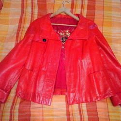 Bright leather jacket Acasta !!!!