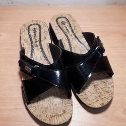 New clogs, sandals of river 41