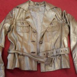 Leather Jacket (Gold)