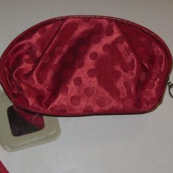 Cosmetic bag 17 * 11 * 5 cm. New