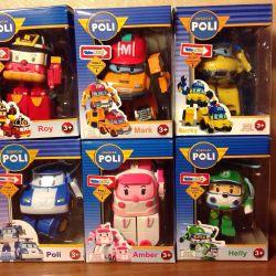 Transformers Poli Robocar new