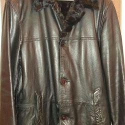Куртка дубленка мужская Италия giove