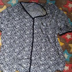 Women's blouse (large size)